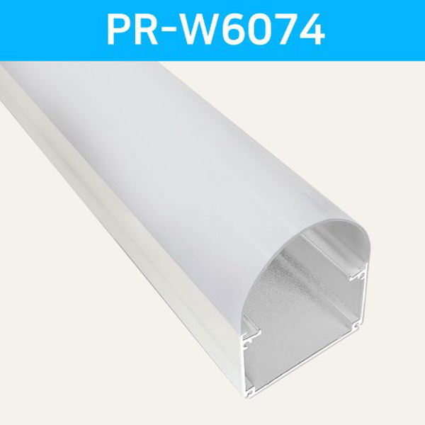 LED방열판 화이트 PR-W6074