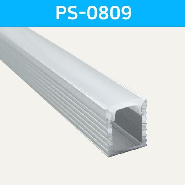 LED방열판 사각 PS-0809