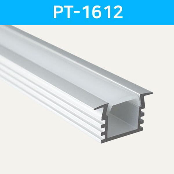LED방열판 날개형 PT-1612