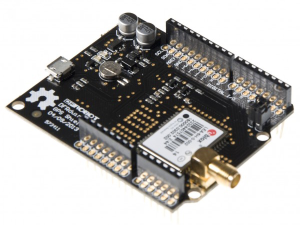 DFRduino GPS Shield For Arduino (ublox LEA-6H)[TEL0044]