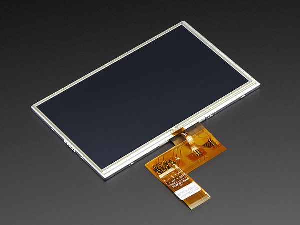 7.0' 40-pin TFT Display - 800x480 with Touchscreen [ada-2354]