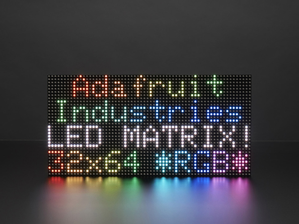 64x32 RGB LED Matrix - 5mm pitch [ada-2277]