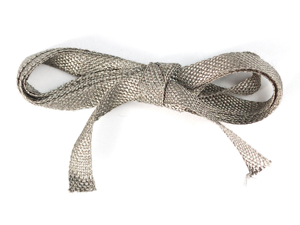 Stainless Steel Conductive Ribbon - 5mm wide 1 meter long [ada-1244]