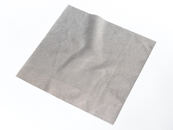Knit Conductive Fabric - Silver 20cm square [ada-1167]