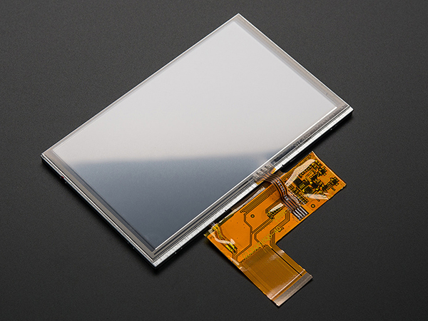 5.0' 40-pin TFT Display - 800x480 with Touchscreen [ada-1596]
