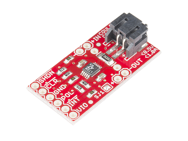 SparkFun Coulomb Counter Breakout - LTC4150 [BOB-12052]