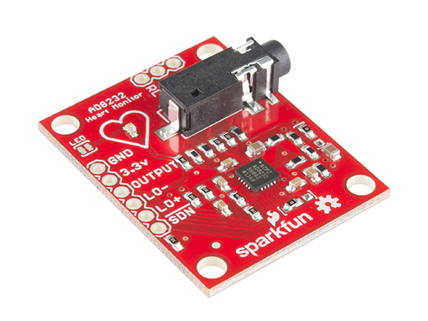 SparkFun Single Lead Heart Rate Monitor - AD8232 [SEN-12650]