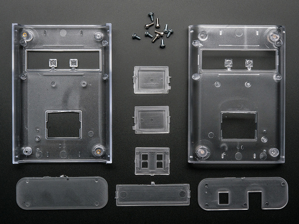 Clear Enclosure for Arduino - Electronics enclosure - 1.0 [ada-337]