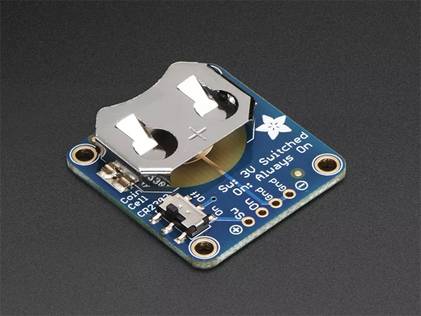 20mm Coin Cell Breakout w/On-Off Switch (CR2032) [ada-1871]