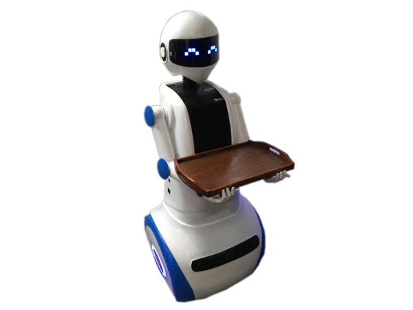new style dish delivery robot