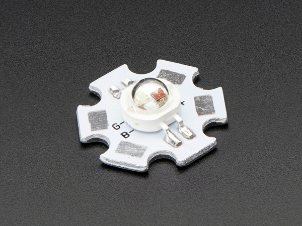 3W-9W RGB LED - Common Anode [ada-2524]