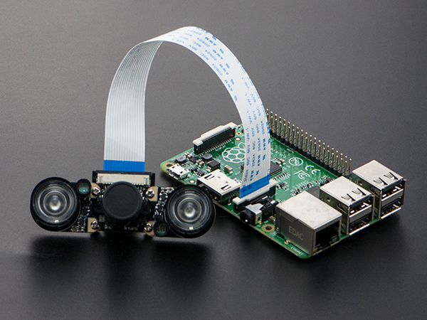 5MP Night Vision Camera for Raspberry Pi [SEN0184]