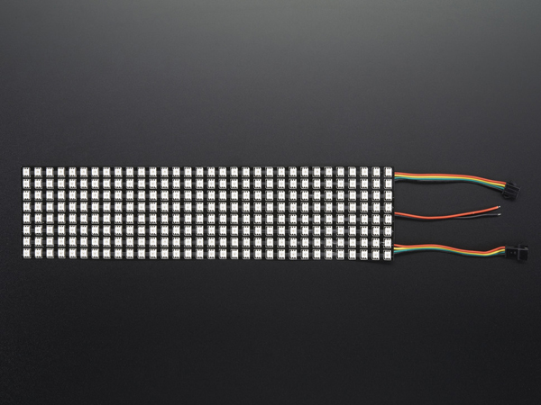 Flexible Adafruit DotStar Matrix 8x32 - 256 RGB LED Pixels [ada-2736]