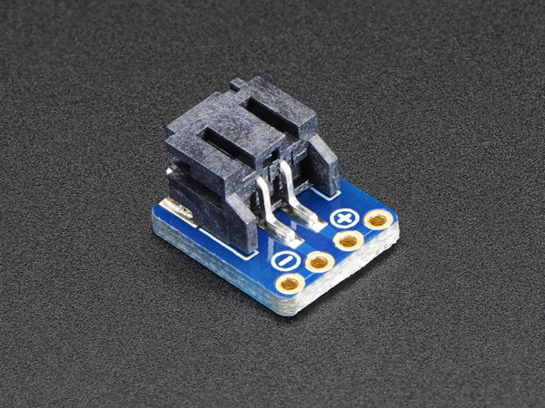 JST-PH 2-Pin SMT Right Angle Breakout Board  [ada-1862]
