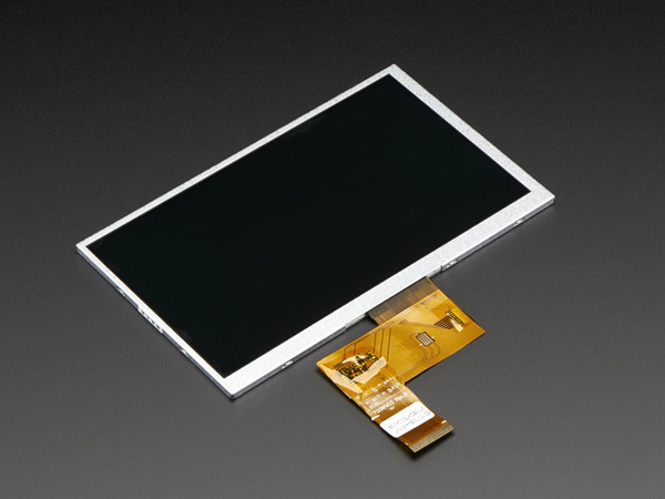 7.0' 40-pin TFT Display - 800x480 without Touchscreen [ada-2353]