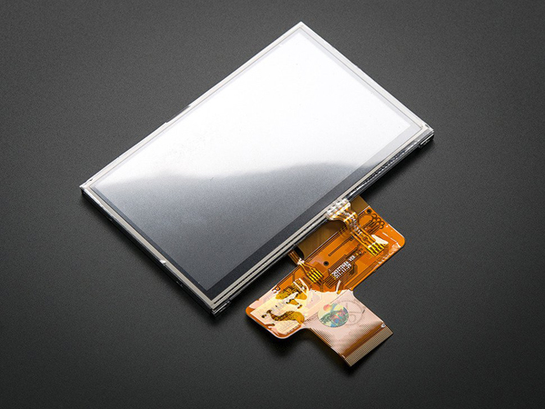 4.3' 40-pin TFT Display - 480x272 with Touchscreen [ada-1591]