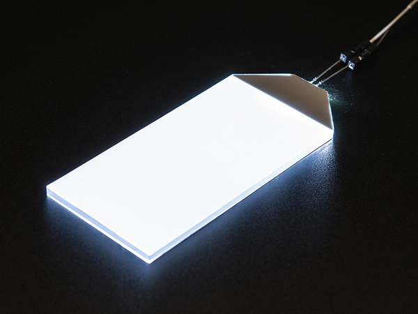 White LED Backlight Module - Large 45mm x 86mm [ada-1621]
