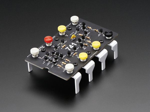 Evil Mad Scientist Labs XL741 Discrete Op-Amp Kit - v2.0 [ada-2086]