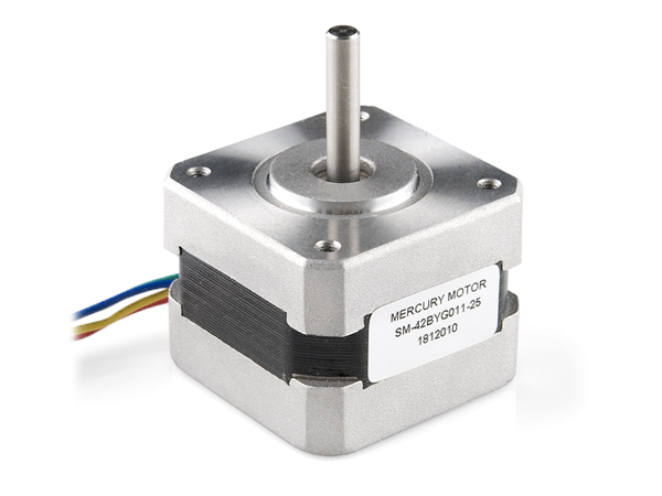 스테핑 모터, Stepper Motor with Cable [ROB-09238]