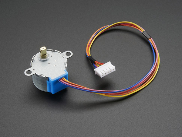 Small Reduction Stepper Motor - 5VDC 32-Step 1/16 Gearing [ada-858]