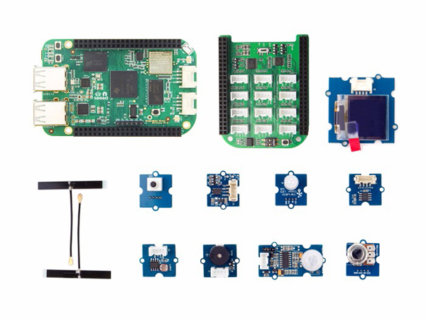 무선 비글본 그린 IoT 키트 BeagleBone Green Wireless IOT Developer Prototyping Kit for Google Cloud Platform [H110060426]