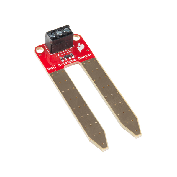 토양습도 센서 SparkFun Soil Moisture Sensor (with Screw Terminals) [SEN-13637]