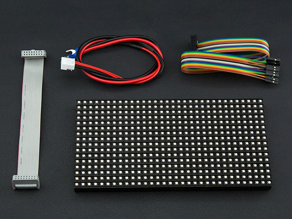 32x16 RGB LED Matrix Panel (6mm pitch) 매트릭스 패널 [DFR0471]