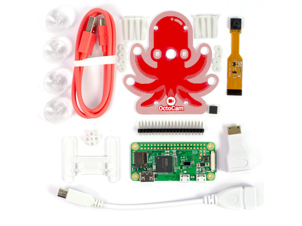 OctoCam - Pi Zero W Project Kit [PIM286]
