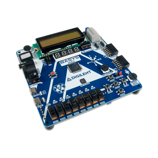 Basys MX3: PIC32MX Trainer Board for Embedded Systems Courses
