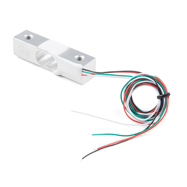 Sparkfun Load Cell - 5kg, Straight Bar (TAL220B) [SEN-14729]