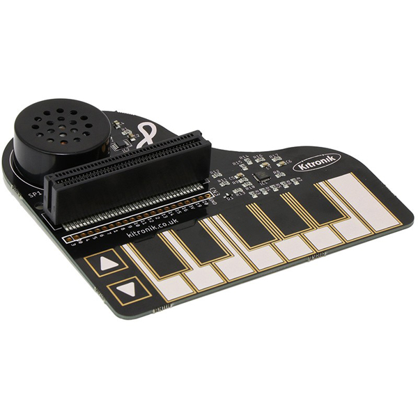 마이크로:비트 :KLEF Piano capacitive touch keyboard [KIT-5631]
