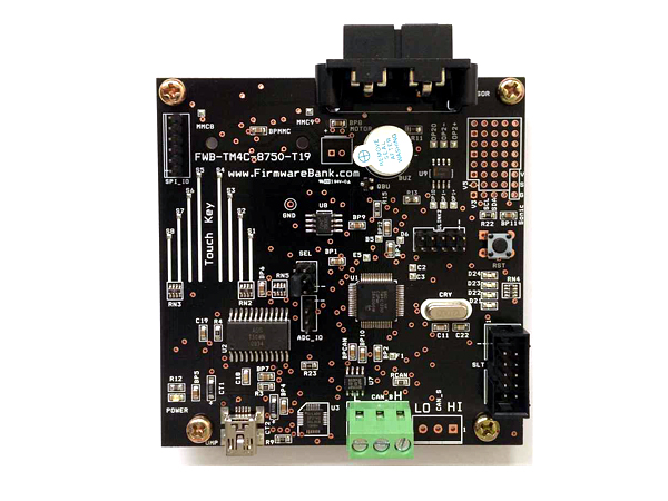 FWB-TM4C-8750 (ARM 32Bit RISC Cortex-M4F Development Kit)