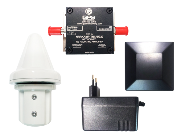 HNRRKIT (GPS Re Radiating Kits / TNC type / Power:220V / Output:5V)