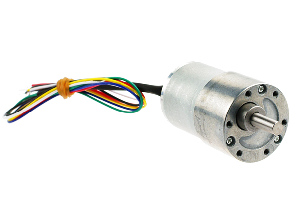 12V DC모터 122rpm w/Encoder [FIT0403]