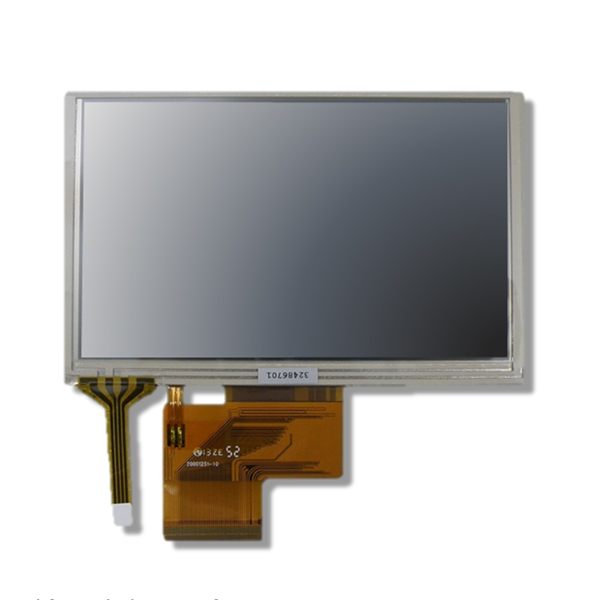 5인치 LCD , 5inch TFT LCD with Resistive Touch Screen ( 800x480 )