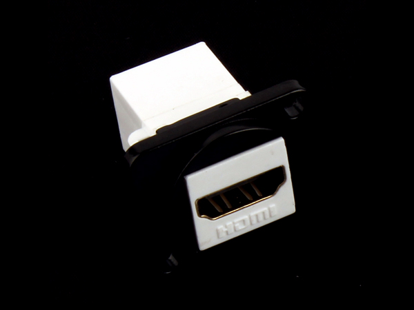 D Type Keystone HDMI Female To Female Connector