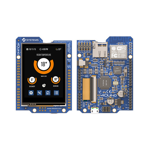 4Duino 2.4인치 IoT 터치 디스플레이 모듈 -WiFi 지원 (4Duino 2.4 inch TFT LCD IoT Display Module with Resistive Touch and WiFi)