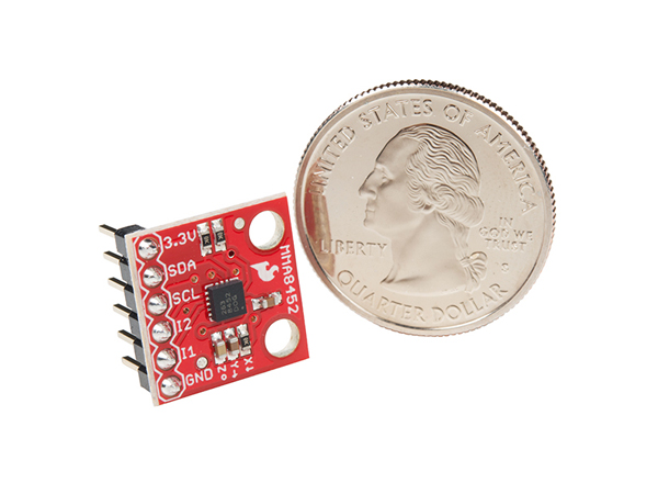MMA8452Q 3축 가속도 센서 모듈 SparkFun Triple Axis Accelerometer Breakout - MMA8452Q (with Headers) [BOB-13926]
