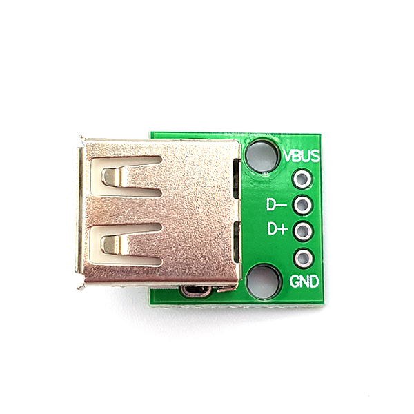 USB2.0 F Type to DIP Adapter Board [SZH-EP116]