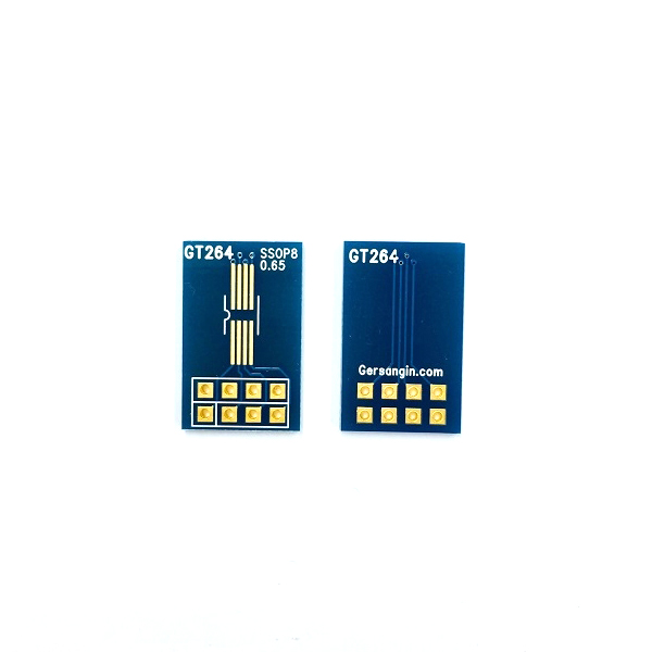 [GT 264] SSOP-08-0.65mm pcb adapter  변환기판 adapter TSSOP SO