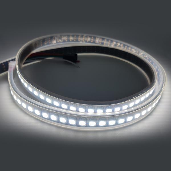 SK6812 5050 RGBW 4색 플렉시블 실리콘튜브 스트립 LED (흑) [SZH-LD149