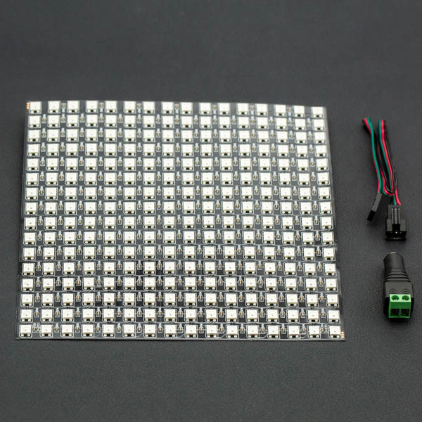 Gravity: Flexible 16x16 RGB LED 매트릭스 [DFR0463]