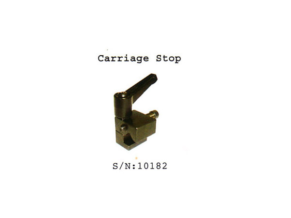 (10182)Carriage stop