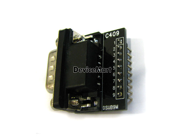 [C409(r)] DSUB_9M Rightangle Adapter