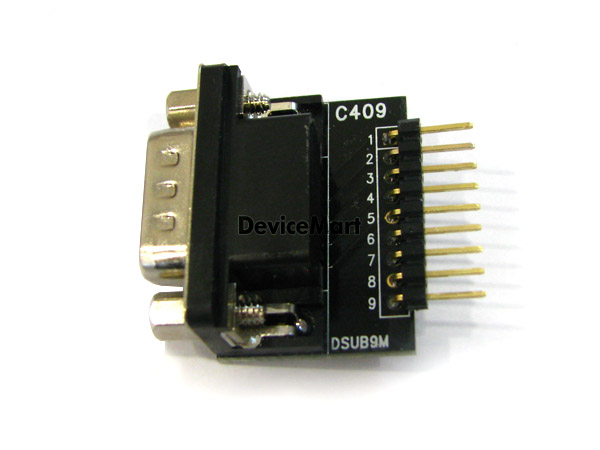 [C409(s)] DSUB_9M Straight Adapter