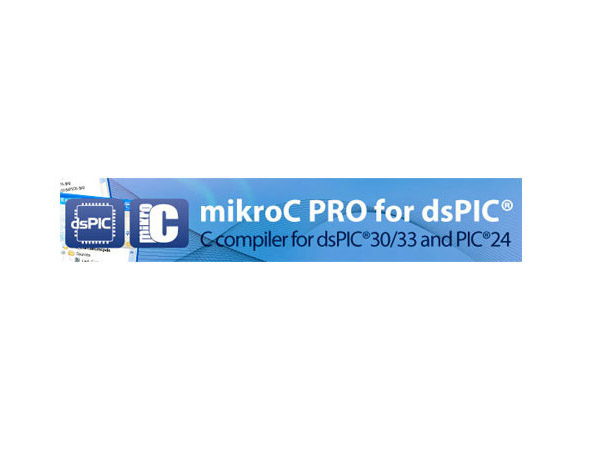 dsPIC30/33 & PIC24용 mikroC PRO 컴파일러 [USB Key - mikroC PRO for dsPIC30/33 and PIC24]