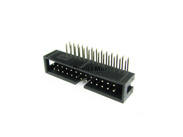일반박스헤더 Dual 2X13pin Rightangle(2.54mm)