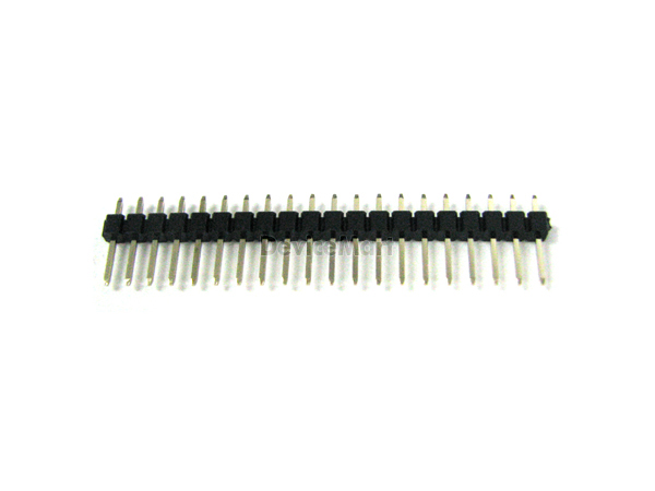 핀헤더 Single 1x20Pin Straight(2.54mm)