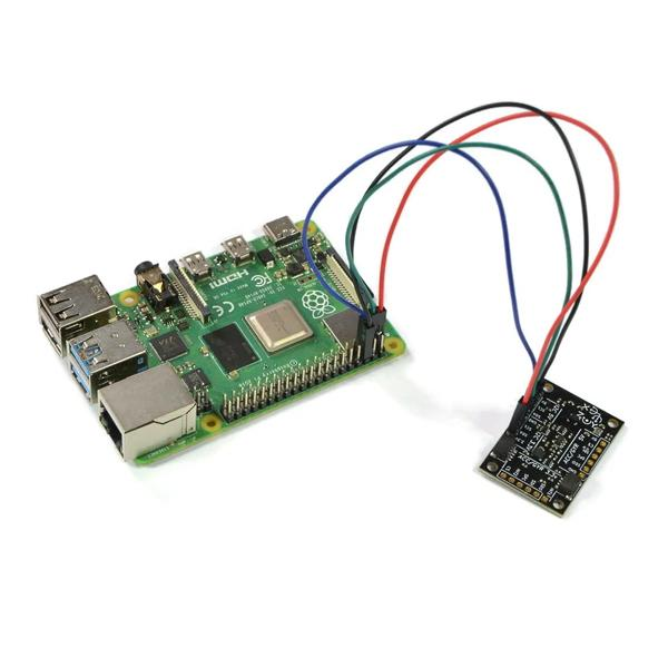베리IMU V3-라즈베리 가속도, 자이로, 지자계, 대기압/고도 센서 (BerryIMU - An accelerometer, gyroscope, magnetometer and barometric/altitude sensor)