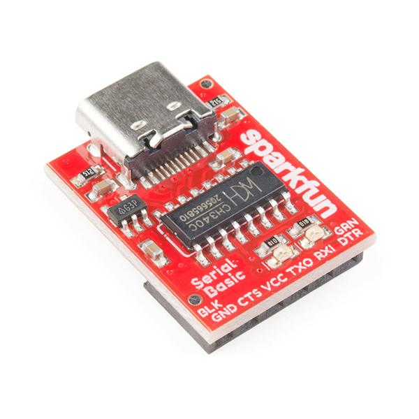 SparkFun Serial Basic Breakout - CH340C and USB-C [DEV-15096]
